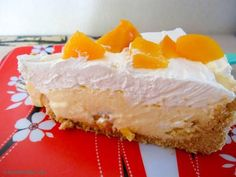 Receita de Torta mousse de pêssego