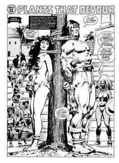 Savage Sword of Conan #42 page 22 by John Buscema and Tony DeZuniga Comic Art