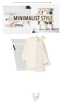 """""""Pink minimal"""" by miss-milika ❤ liked on Polyvore featuring Monki and Marc by Marc Jacobs"""