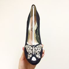 2015 s/s Aruna Seth Best Bride shoes Crystal Butterfly