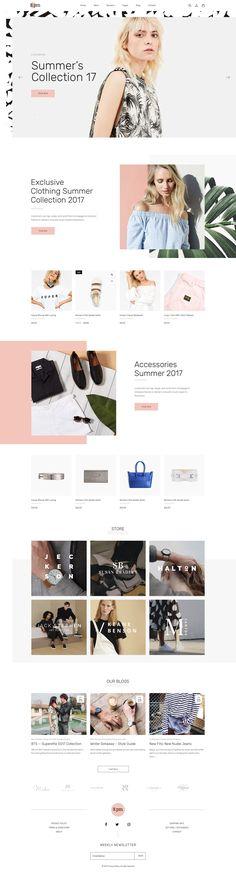 Eightpm - Fashion WordPress Theme by Opal Wordpress Theme on @creativemarket