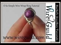 O So Simple ring - A Wire Wrap Tutorial