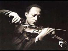 Jascha Heifetz - Mozart, Violinkonzert Nr. 4 - KV 218 D-Dur - YouTube
