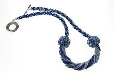 The mixing of crafts - 2 x bejewelled (beadwoven beads designed by Jean Power) on an 8 strand Kimihimo braid Uk Shop, Braids, Bracelets, Handmade, Beautiful, Jewelry, Design, Fashion, Bangles