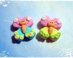 MInnie niña polímero arcilla encanto grano por RainbowDayHappy