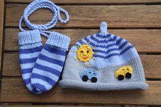 """Sets - Wimmel Baby Set """"Zwei kleine Autos unterwegs""""  - ein Designerstück von -Wimmelkinder- bei DaWanda"""