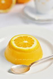 E tu mangi bio? Lemon Head, Orange Jello, Jello Cake, Jello Recipes, Fancy Drinks, Agar, Finger Foods, Italian Recipes, Bakery