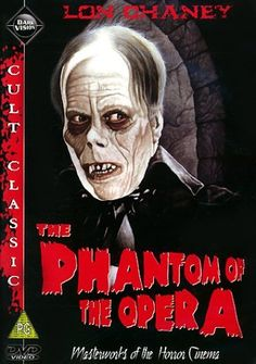 Phantom of the Opera 1925. With Lon Chaney Sr.  This actor was in extreme pain while starring in this classic.  But!  He insisted to have it his way. What a payoff!