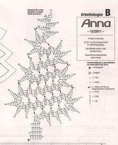 Artesanías de Lourdes: Árbol de Navidad de Crochet Novedoso                                                                                                                                                                                 Más