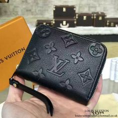 Louis Vuitton M60574 Zippy Coin Purse Monogram Empreinte Leather