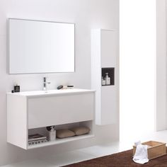 Sonoma Aluminum Metal Frame Bathroom Mirror | Zuri Furniture
