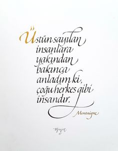 Italic Calligraphy Experiments by Tolga Girgin