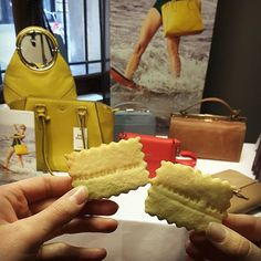 Yummy PRESSDAY! #munich #pressday2016  #press #PICARD #bag #leathergoods #münchen #cookies #yummy #fashion #style #colour #new #collection