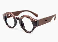 Sagawafujii Handmade Glasses Marco Real Wood