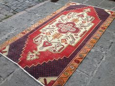 Your place to buy and sell all things handmade Boho Decor, Bohemian Rug, Turkey Colors, Rugs On Carpet, Carpets, Kilim Rugs, Wool Rug, I Shop, Area Rugs