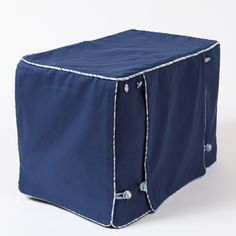 Sailor Blue Stagecoach Designer Dog Crate Cover                                                                                                                                                      More