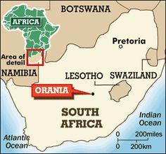 White Racism Whites Only Orania