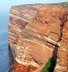 """earthstory: """" Heligoland is an island off the coast of nothern Germany. This island has already had a turbulent history before man set foot on this island of red sandstone. Antelope Canyon, Geology, Stones And Crystals, Coast, Germany, Island, Nature, Volcanoes, Travel"""