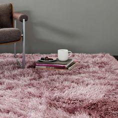Guzzi Heather Area Rug Wrought Studio Rug Size: Runner 65 x Grey Shag Rug, Yellow Rug, Purple Area Rugs, Pink Rug, Plush Carpet, Rugs On Carpet, Carpets, Threading