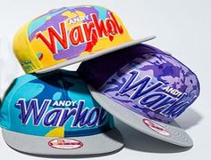 "NEW ERA ""Andy Warhol"" 9Fifty Snapback Collection"