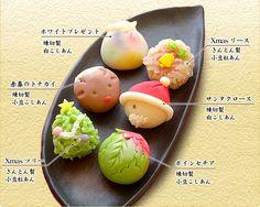 12月限定クリスマス和菓子ケーキ:京都 京菓子司 総本家 よし廣