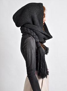 fashion raccoon: hooded warrior