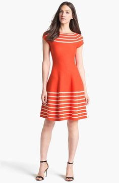 kate spade new york 'amalia' cotton sweater dress available at #Nordstrom