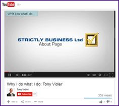 Tony Vidler *~ Why I Do What I Do *~