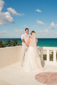 newlyweds Bride and groom