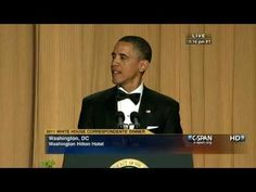 "▶ C-SPAN: President Obama at the 2011 White House Correspondents' Dinner - YouTube ▶ C-SPAN: President Obama at the 2011 White House Correspondents' Dinner - YouTube (""The Lion King"" part cracks me up every time, but I love that they played ODB's ""Shimmy Shimmy Ya"" for VP Joe Biden. I love both of these guys.)"