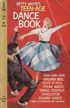 Betty White's teenage dance book