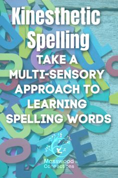 Active Ways to Teach Spelling; Hands-on learning and kinesthetic spelling activities. A multi-sensory approach helps children with a learning disability. Spelling Word Activities, Spelling Practice, Spelling Words, Spelling Ideas, Spelling Games, Kinesthetic Learning, Educational Activities For Kids, Listening Activities, Early Reading