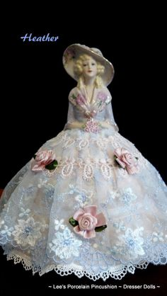 Heather  Porcelain Half Doll by leesvintagetreasures on Etsy, $109.00