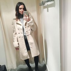 That Shearling Coat from CELINE. / AnneliBush.com - MY DAY AT BICESTER VILLAGE #AnneliBush #Style #London #Blogger #Celine