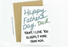 """13 Cheap 2016 Father's Day Cards For Dad, Because Saying """"I Love You"""" Shouldn't Be Expensive"""