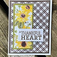 Thankful Heart, Flower Cards, Embellishments, Card Stock, Bloom, Stamp, Paper, Creative, Artwork