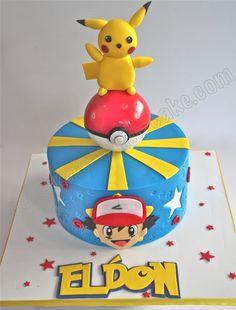 Celebrate with Cake!: Pokemon Ash & Pikachu Cake