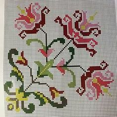 Ethnic Bag, Palestinian Embroidery, Cross Stitch Patterns, Needlework, Diy And Crafts, Projects To Try, Quilts, Crochet, Fabric