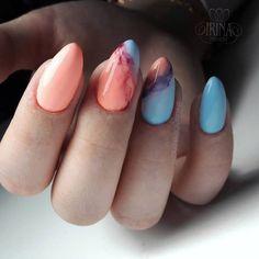 Идеи дизайна ногтей - фото,видео,уроки,маникюр! Nail Manicure, Shellac Nail Art, La Nails, Pedicure, Acrylic Nails, Short Nails Art, Different Nail Designs, Acrylic Nail Designs, Nail Art Designs