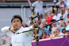 Olympic champion Oh Jin Hyek of Korea - London 2012 Olympic Games