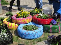 come si riciclano i pneumatici usati