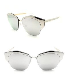 Christian Dior Mirrored color D4W/DC Palladium/Silver Mirror lense #apparel #eyewear #christiandior #sunglasses #shops #women #departments #men