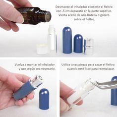 Inhalador Nasal De Lujo Para Aceites Esenciales