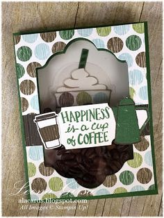 A La Cards: Coffee Happiness Shaker