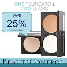 BC Color Perfecting Wet/Dry Finish foundation, our most popular makeup format, gives your skin exactly what you need, when you need it. Sponge it on dry for a natural look or damp for maximum coverage... AND it's 25% off throughout the entire month of February!    To find your perfect shade, contact me on facebook today, Marilyn McCoy  visit my store www.beautipage.com/marilynmccoy
