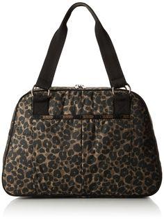 LeSportsac Taylor Computer Bag, Army Cheetah, One Size