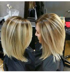 Shory lob Hair cut