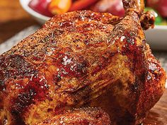 Rotisserie Chicken This recipe was created for the Emeril Lagasse Power AirFryer 360 by Tristar. Air Fryer Oven Recipes, Air Fry Recipes, Garlic Chicken Recipes, Cooking Recipes, Beef Recipes, Easy Recipes, Convection Oven Recipes, Recipies, Healthy Recipes