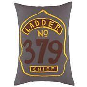 Throw pillow Boys Bedding: Firefighter Themed Bedding Set in Boy Bedding