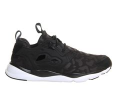 Reebok Fury Lite Black Leopard Concrete Jungle W - Hers trainers